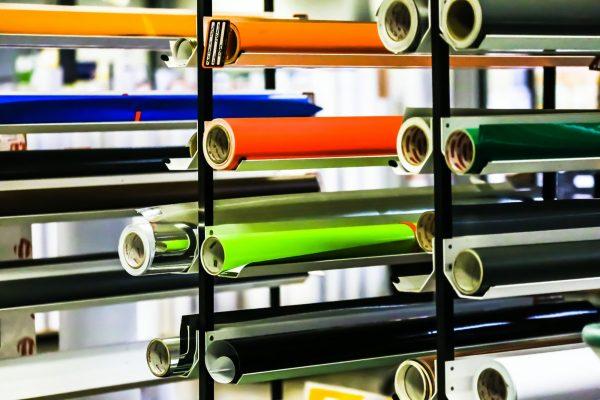 Sfeerbeeld van het papier dat de drukkerij burocad gebruikt