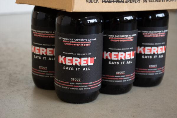 Rebranding bier KEREL